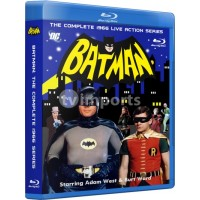 Batman: The Complete Adam West 1966 TV Series Blu-Ray Collection