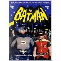 Batman: The Complete Adam West 1966 TV Series DVD Collection