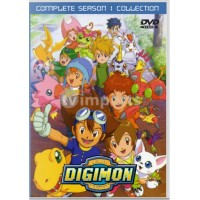 Digimon Season 1 Adventure Complete DVD Collection