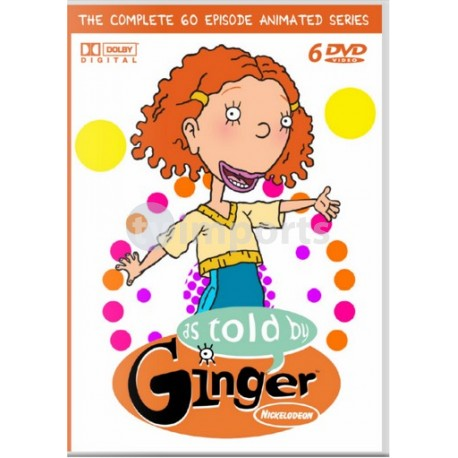As Told By Ginger Animated Series Complete DVD Collection