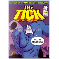 The Tick Animated Cartoon Series Uncut DVD Collection